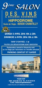 Brochure Chantilly 2014